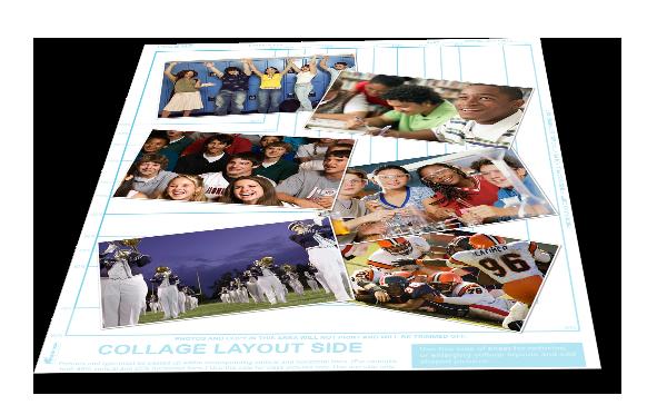 cut paste - Yearbook Design Ideas