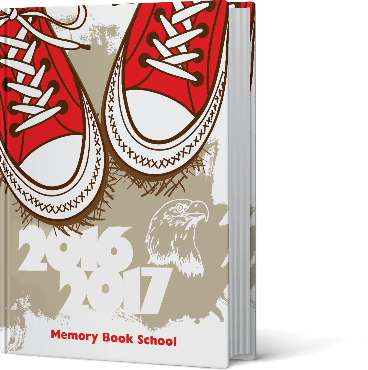 Memory Book Cover Ideas : Custom school yearbook covers customization